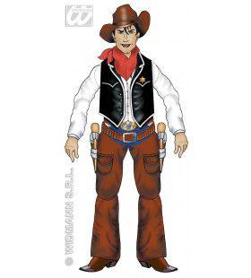Decoratie Cowboy, 135cm