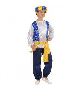 Arabische Prins, Jongen Compleet Kostuum