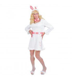 Vreemd Konijn Travestiet XL Kostuum Man