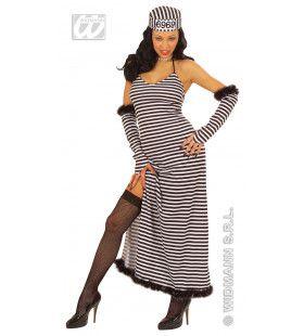 Schone Gevangene Ms Cellmate Kostuum Vrouw