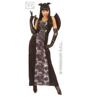 Gotische Vleermuis Dark Bat Kostuum Vrouw