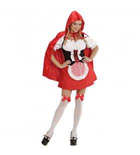 Sprookjesachtig Rood Kapje, Sexy Kostuum Vrouw