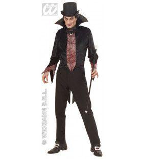 Gentleman Vampier Fiberoptisch Kostuum