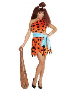 Flintstones Vrouw Stenen Tijdperk Kostuum