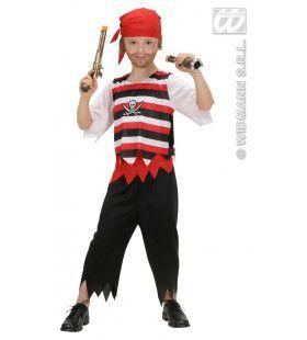 Piraat Jongen Kapitein Stoppel Kostuum