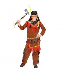 Savannah Indiaanse Jongen Kostuum