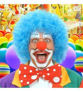 Pruik, Clown Blauw