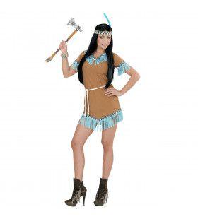 Chadaka Indiaanse Vrouw Kostuum