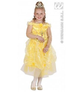 Prinses Sunshine Geel Prinses Cuty Kostuum Meisje