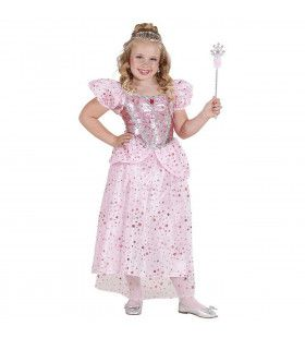 Prinses-Fee Rose Pink Fairy Kostuum Meisje
