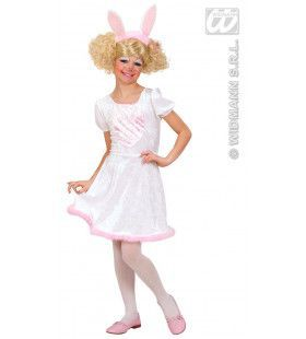 Keurige Bunny Kostuum Meisje