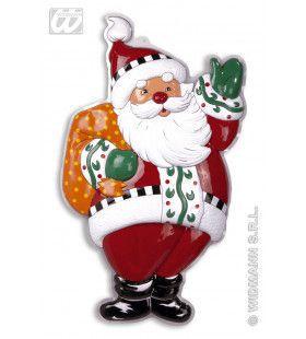 Wanddecoratie Kerstman Met Zak