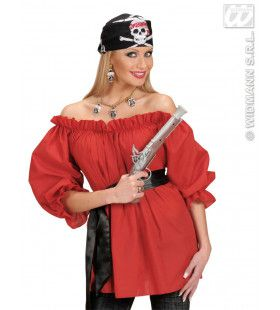 Zwarte Bandana Piraten Schedel
