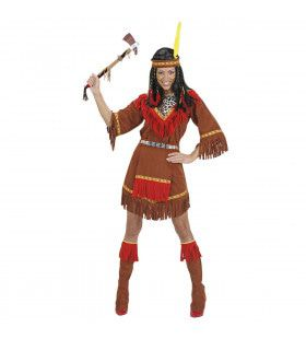 Indiaanse Jurk Kostuum Vrouw