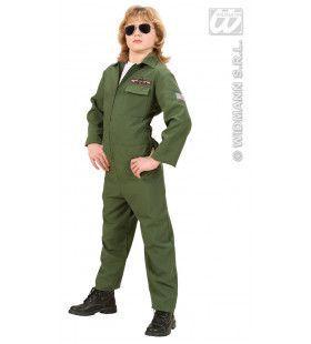 Gevechtspiloot Top Gun Kostuum Jongen