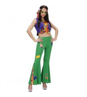 Woodstock Hippie Meisje Dance Away Kostuum Vrouw