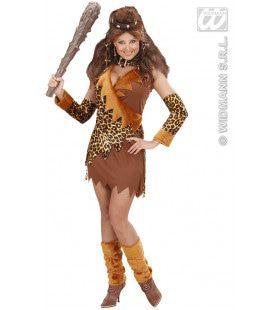 Grotbewoonster Luxe Captain Cavewoman Kostuum Vrouw