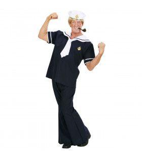 Zeeman Blauw Popeye Kostuum