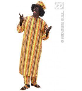 Afrikaanse Heer Mr Africa XL Kostuum Man