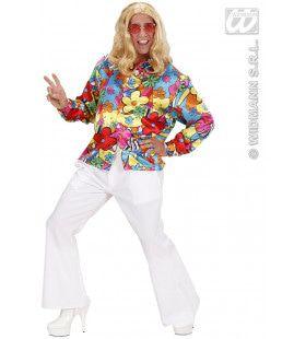 Hippie Shirt Man Kostuum