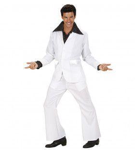 Kostuum Wit Man Kostuum