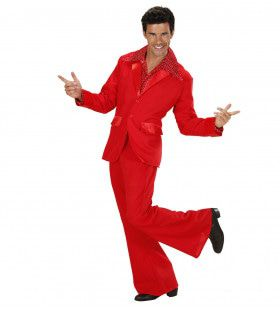 Kostuum Rood Man Kostuum