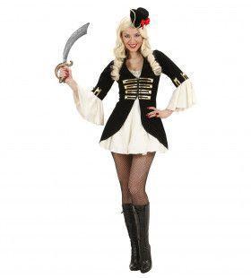 Sexy Piratenkapitein Kostuum Vrouw