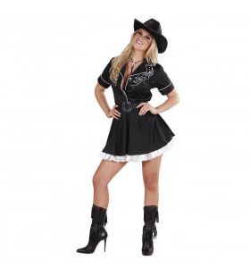Hot Rodeo Meisje Kostuum Vrouw
