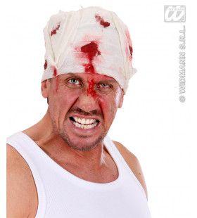 Zwachtel Hoofd Met Bloed