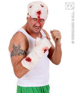 Zwachtel Arm Met Bloed