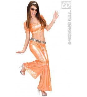 Top Holografisch, Oranje Vrouw