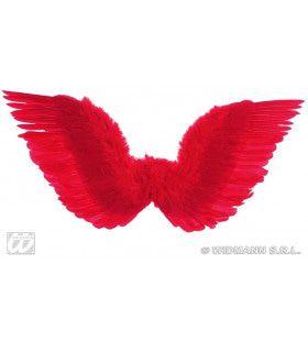 Gevederde Vleugels Rood