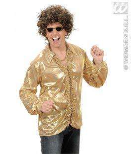 Rouchenblouse, Goud XL Man Kostuum