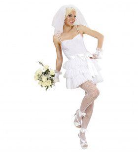 Speels Bruidje Kostuum Vrouw
