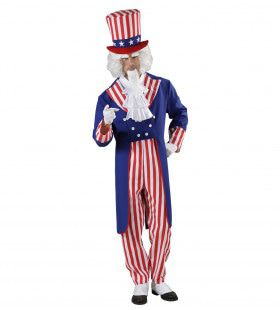 Uncle Sam Kostuum Man