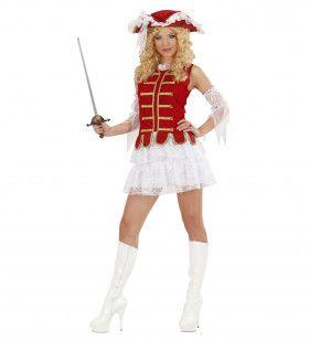 Musketier Meisje Kostuum Vrouw