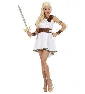 Olympia Warrior Vrouw Kostuum