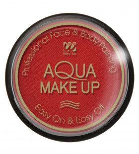 Aqua Make-Up 15gr, Rood