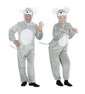 Plushe Muis Sweet Mouse Volwassen Kostuum