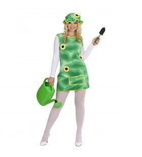 Jurkje Tuin Ms Green Vrouw Kostuum