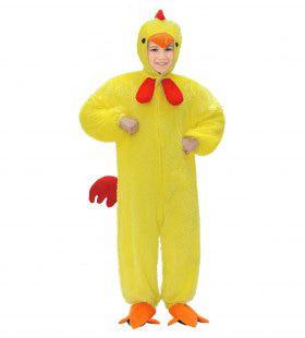Full-Body Pluche Kuiken Kind Kostuum