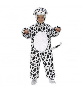 Full-Body Plushe Dalmatier Kind Kostuum