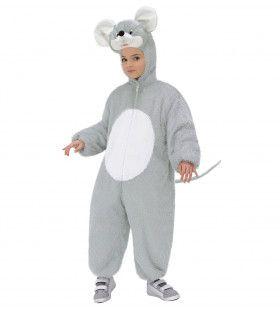 Full-Body Pluche Muis Kind Kostuum