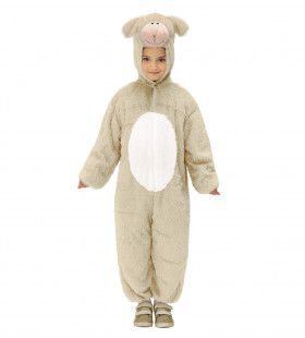 Full-Body Pluche Schaap Kind Kostuum Kind
