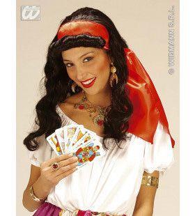 Pruik, Zigeunerin Met Hoofdband