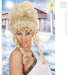 Pruik, Olympische Godin Blond
