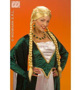 Pruik, Middeleeuwse Koningin Blond