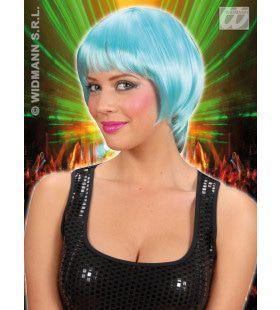 Pruik, Rave Turquoise