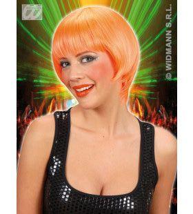 Pruik, Rave Neon Oranje