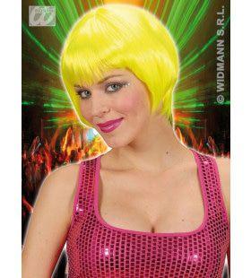 Pruik, Rave Neon Geel
